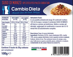 Picture of Sugo di Manzo Scatola da 5 pacchetti